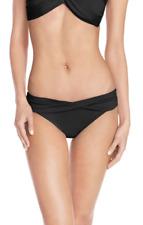 Seafolly Womens Black Hipster Bikini Bottom Sz 8 AUS 4 US 6303