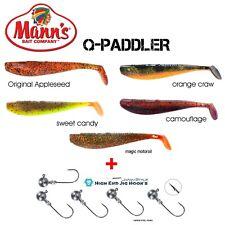 Dorschkiller Mann´s Q-Paddler 12cm mit VMC Baitholder 3+1 55g #4