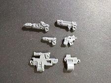 Warhammer 40k Mark III Space Marines Heavy Bolter / Meltagun / Plasma Bits