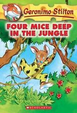 Four Mice Deep in the Jungle (Geronimo Stilton, No. 5)-ExLibrary