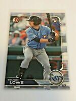 2019 Bowman Baseball Rookie Card - Brandon Lowe RC - Tampa Bay Rays