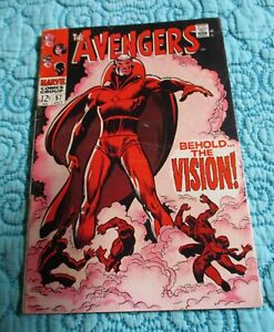 Avengers # 57 THE VISIONS 1st APPEARANCE  KEY ISSUE