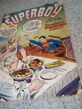 Superboy 59 Very Good Luthor