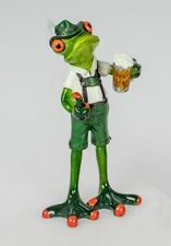 Formano Decorative Frog Figure With Garb, Bursche, Approx. 5 7/8in