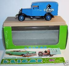 ELIGOR FORD V8 CAMIONNETTE 1934 ELTRON CHAUFFAGE ELECTRIQUE 1/43 REF 1505 BOX a