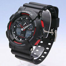 Casio G-Shock World Time Alarm Men's Watch GA-100-1A4DR