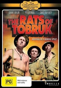 The Rats Of Tobruk (DVD) NEW/SEALED