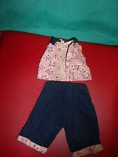 VINTAGE ~ TERRI LEE DOLL TAGGED BICYCLE BLOUSE & PEDDLE PUSHERS