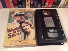 * Weather In The Streets Rare British TV Movie VHS 1983 Michael York BBC Romance