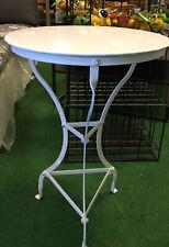 Octopus Balkontisch Gartentisch Tisch Metall rund grau  Neu SALE