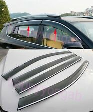 Window Visor Vent Shades Sun Rain Guard For 2014-2016 BMW X5 F15