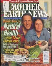 Mother Earth News, 1998, LOT of Five Issues