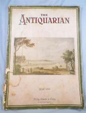 The Antiquarian Magazine July 1930 Staffordshire Quilts Sunflowers Silver AS IS