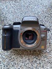 Panasonic LUMIX DMC-GH2 16.0MP Digital Camera (silver) with 14-42 mm zoom lens