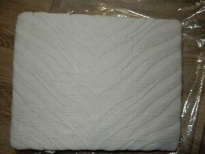 Pottery Barn Zebra Matelasse pillow sham standard (1) Gray