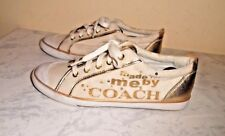 Coach Barrett size 10B US, made for me by coach gold sequins sneakers