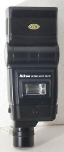 Nikon Speedlight SB-16A Flash, AS-8, NIB, IM, case, boxes & foam