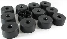 20  Stück Ø 50 mm H-25-mm Möbelgleiter Möbelfüße  Möbelfuß  Polsterfuß schwarz