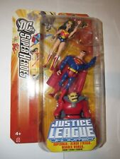 "DC Justice League Unlimited 4"" figure 3 pack Wonder Woman Etrigan Superman RED"