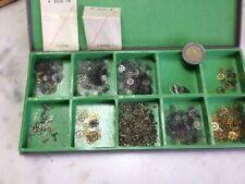 lot de pièces pour restauration de montre roues et balanciers 2