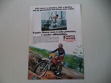 advertising Pubblicità 1977 MOTO FANTIC CABALLERO 50 TX 290/291