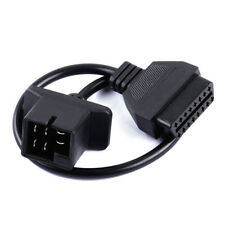 6 Pin OBD1 To OBD2 16 Pin Connectors Car OBD Diagnostic Cable For Chrysler Jeep
