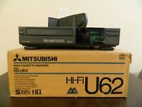 Mitsubishi  HS-U62 S-VHS 4 Head MTS VISS Player Recorder S-Video Output w/remote