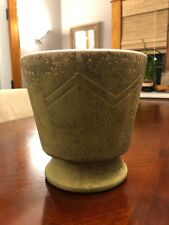 "Vintage McCOY Pottery Light Green Pot Planter 6 1/2"" Signed"