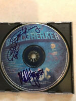 AC/DC signed cd by 3 coa + Proof! Malcolm Young Angus Young ac/dc autographed