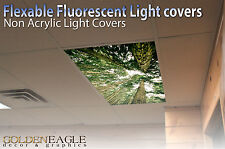 Flexible Fluorescent Light Cover Films Skylight Ceiling Office Medical Dental 15