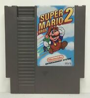 Nintendo NES Super Mario Bros. 2 *Authentic/Cleaned/Tested* FREE SHIPPING