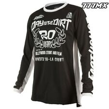 2018 FASTHOUSE DITD CLASSIC BLACK JERSEY MOTOCROSS MX LARGE *IN STOCK*