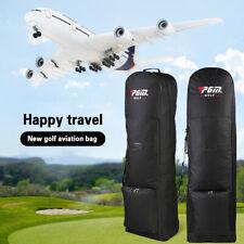 Foldable Golf Bag Travel with Wheels Large Capacity Bag Practical Aviation Bag