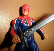 CAPTAIN BRITAIN marvel universe UK Captain America FIGURE toy Avengers sword