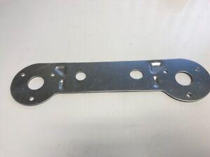Caravan - In Line N & S   Socket Plate - Black Metal - PH810