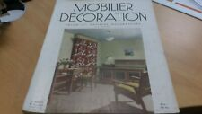 """Magazine  N°5 vintage """"Mobilier et decoration"""" salon artistes decorateur 1953"""