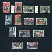 Ceylon - 1935-36 - KGV Scenes of Ceylon - SC 264-274 [SG 368-378] USED - B5