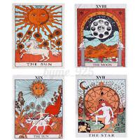 Tarot Flag Tapestry Wall Hanging Sevenstars Magical Moon Tapestries Room Decor !