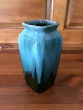 Vintage Blue Mountain Pottery Canada BMP ~  Square Lip Vase