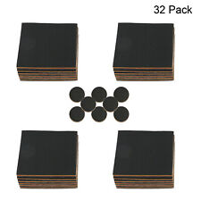 "Non Slip Furniture Pads 32 Pack Furniture Grippers 4"" Square + 8pcs 1"" Round"