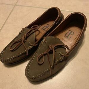 ALLEN EDMONDS Catskill Brown Suede Men's Loafers US Size 7 D $250 **