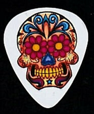 COLORFUL CRAZY COOL SUGAR SKULL CUSTOM MADE GUITAR PICK!!!