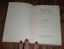Short Course of Bible Study by Norman Olson (1946, hardcover)