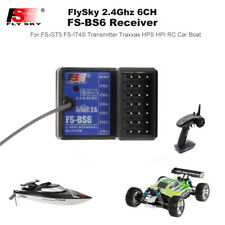 New FlySky FS-BS6 Receiver 2.4G 6CH AFHDS2 for FS-GT5 FS-IT4S Transmitter Z6B0