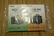 Canon EOS 30D Digital Camera Instruction Book / English&Spanish Manuals / Sealed