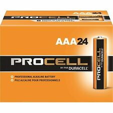 Duracell Procell Alkaline Battery, Aaa, 24 Pack