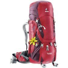 Macutos rojos de poliéster para acampada y senderismo