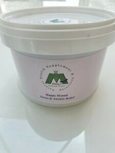 Natural dog food Supplements and Seasoning, Stress & Anxiety Relief, Happy Hound