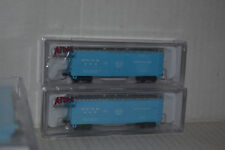 2 Atlas Merchants Dispatch PVYX 40' PD Box Car N scale 20001805, 20001806