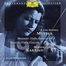 Anne-Sophie Mutter, violin Anne-sophie Mutter: Mozart Violin Concer CD